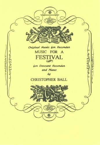 Music For A Festival: Descant Recorder and Piano