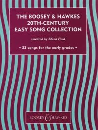 The Boosey And Hawkes 20th Century Easy Song Collection: Voice And Piano - English