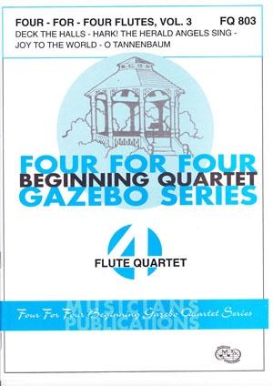 4 For 4 Flutes: Vol 3: Flute Quartet