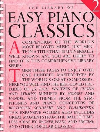Library Of Easy Piano Classics: Book 2
