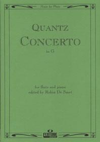 Concerto In G: Flute & Piano (Fentone)