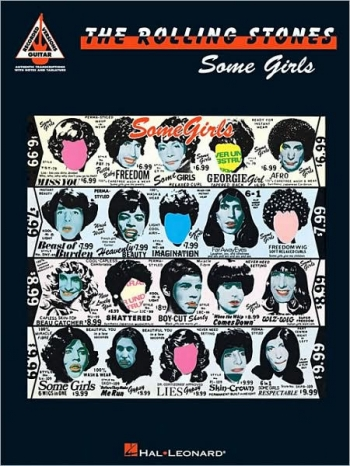 Rolling Stones -Some Girls : Recorderd Guitar Version