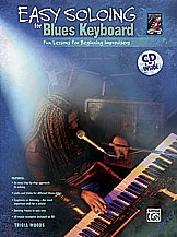 Easy Soloing: Blues Keyboard: Fun Lessons: Book And Cd ( Woods)