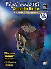 Easy Soloing: Acoustic Guitar: Fun Lessons: Book & CD