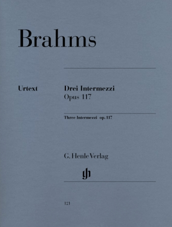 3 Intermezzi: Op.117: Piano  (Henle)