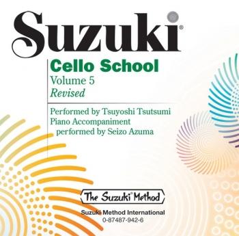 Suzuki Cello School Vol. 5 CD Only
