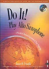 Do It Play Alto Sax: 2: Bk&cd