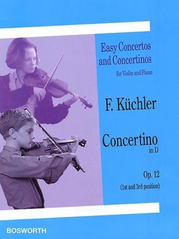 Concertino D Op.12: Violin & Piano (Bosworth)