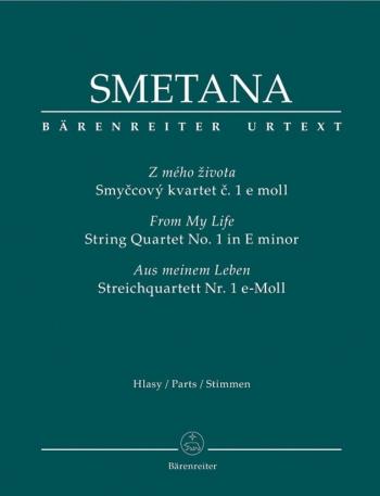 Smentana: String Quartet: No1 E Minor: From My Life: Pts (urtext)