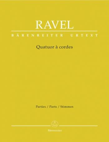 Ravel: String Quartet: Quatuor A Cordes: Pts (urtext)