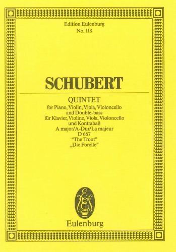 Trout Quintet: Miniature Score