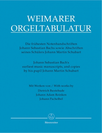 Earliest Music Manuscripts And Copies By His Pupil Johann Martin Schubart  (Barenreiter)