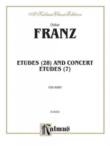 Etudes And Concert Etudes: Horn