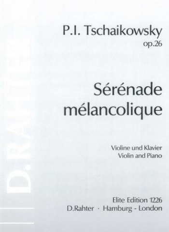 Serenade Melancolique Op26: Violin and Piano
