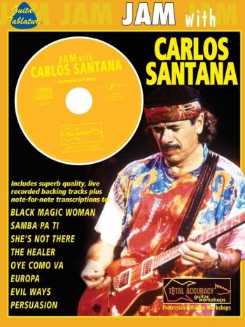 Jam With Santana:Guitar Tab: Book & CD