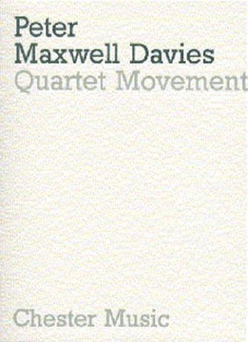 Quartet Movement: Miniature Score