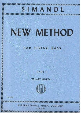 New Method Part 1: Double Bass: Tutor (simandl)