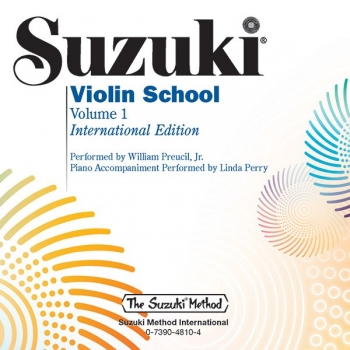 Suzuki Violin School Vol.1 Violin Part Book & Cd (Revised)