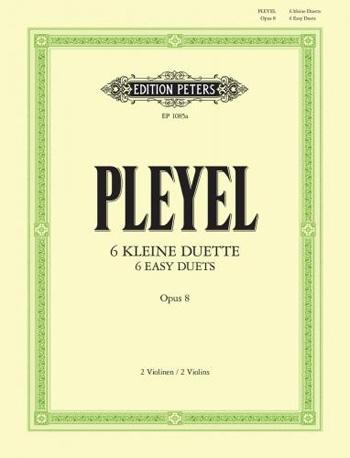 Easy Duos: Op8: Violin: Duets: 2 Violins and Piano
