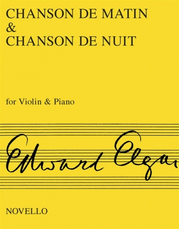 Chanson Du Matin And Chanson Du Nuit: Violin and Piano
