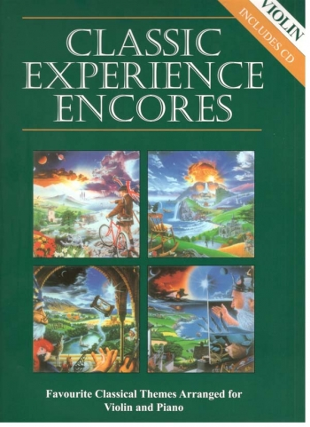 Classic Experience Encores: Violin Book & CD