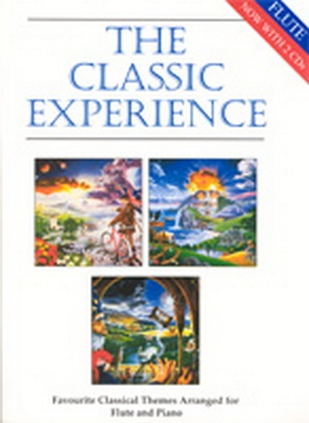 Classic Experience: Flute & Piano Book & CD