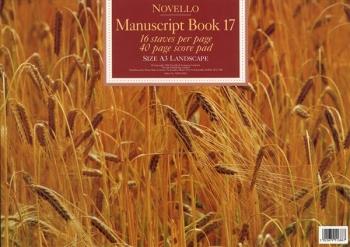 Manuscript - 16 Stave - 40 Page - Book - No 17 - Novello