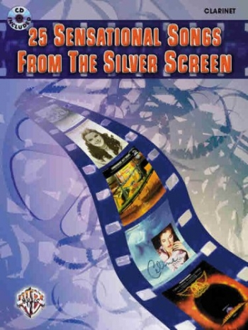 Great Songs From The Silver Screen: Alto Sax: Book & CD