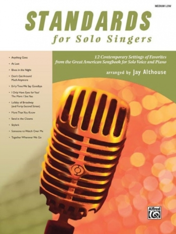 Standard For Solo Singers: Medium Low: Book