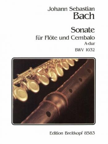 Flute Sonata A Major: Flute & Piano (Breitkopf)