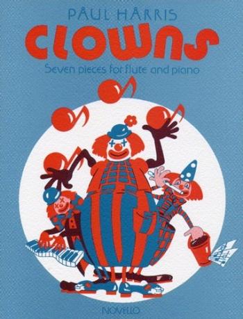 Clowns: Flute & Piano (Paul Harris) (Novello)