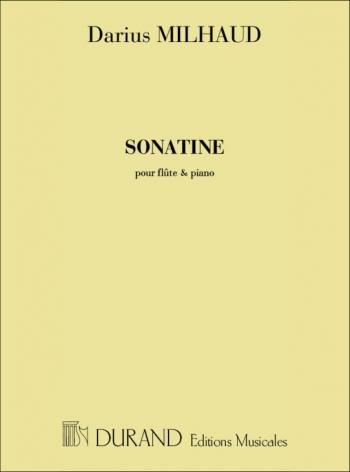 Sonatine Flute & Piano (Durand)