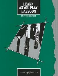 Learn As You Play Bassoon (Wastall) (B&H)