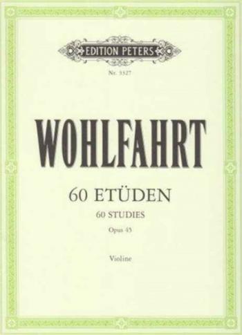 60 Studies: Op45: Violin
