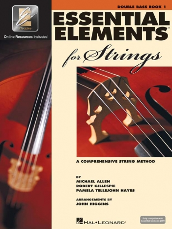 Essential Elements 2000: Book 1: Double Bass: Book & CD