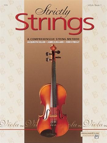 Strictly Strings Book 1: Viola