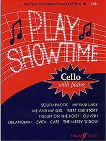 Play Showtime: Cello & Piano (Faber)