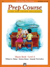 Alfred Basic Prep Course For the Young Beginner Theory Book: Level A