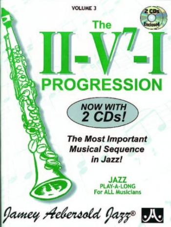 Aebersold Vol.3: The Ii: V: I: Various: All Instruments: Book & CD