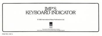 Keyboard Indicator: Keyboard: Imp
