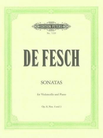 Sonata: D Minor Op8: Cello (Peters)