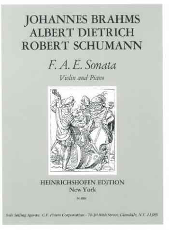 F-A-E Sonata Violin & Piano (Heinrichshofen)