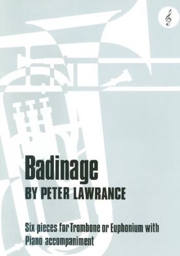 Badinage: Trombone Treble Clef (Brasswind)