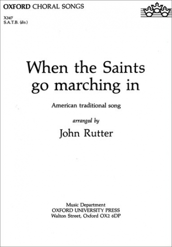 When The Saints Go Marching In: Vocal SATB (OUP)