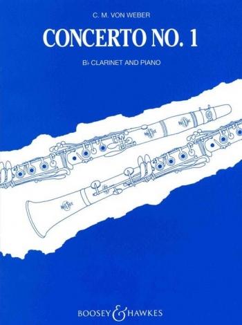 Clarinet Concerto F Minor: No 1 Op 73: Clarinet & Piano (Boosey & Hawkes)