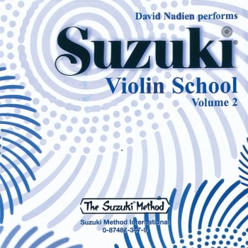 Suzuki Violin School Vol.2  Cd Only
