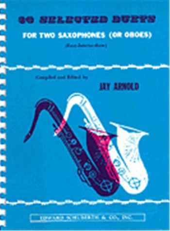 30 Selected Duets: Alto or Tenor Saxophone