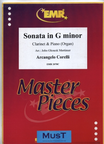 Clarinet Sonata In G Minor: Clarinet & Piano