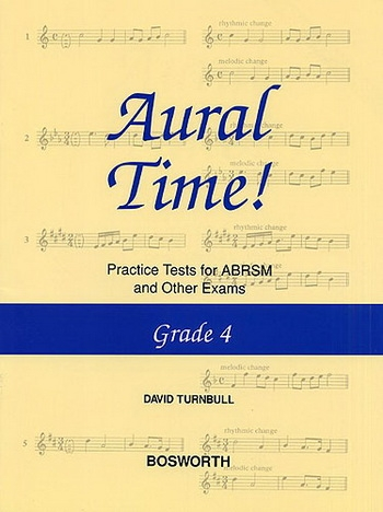 Aural Time: Practice Tests: Grade 4 (David Turnball)