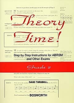 Theory Time Grade 2: Workbook (turnball)